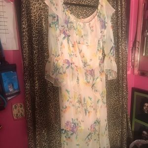 New York & Company Tall Floral  Dress